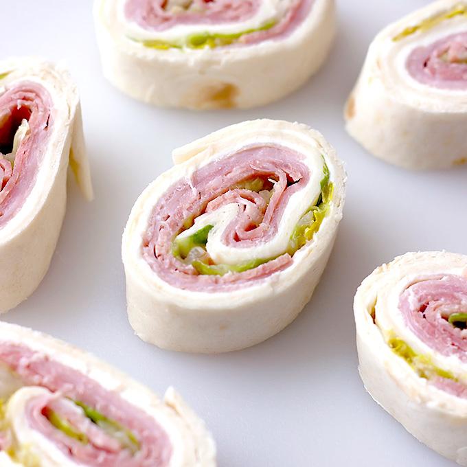 Cream Cheese Italian Pinwheels recipe
